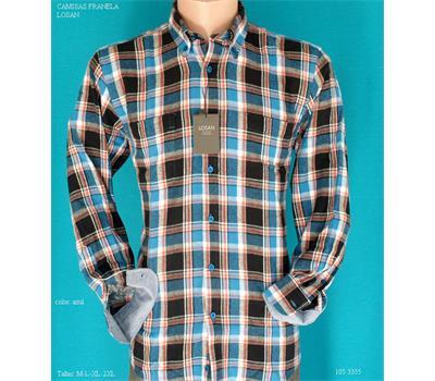 8a2786ca17 Camisa hombre barata en franela Losan - Ropa10