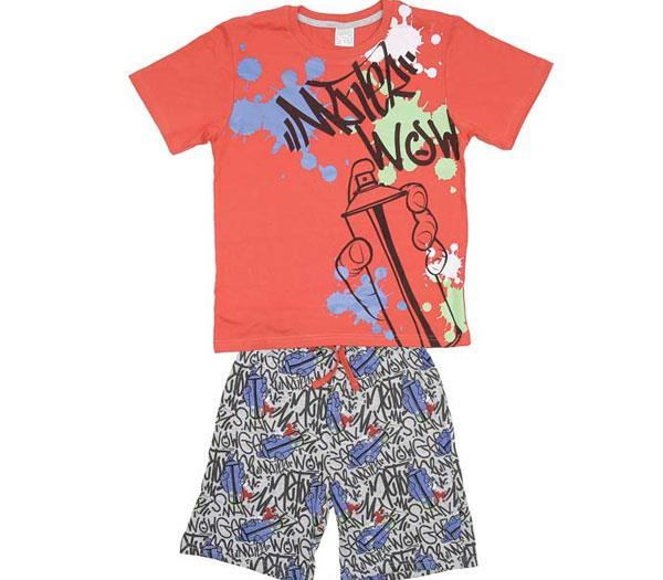 29a00a5062 Imagen. Pijama de niño corto Tobogan