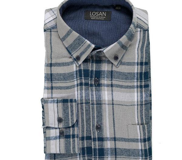 1577b8e5c2 Camisa de franela Losan. Rebajado. Talla2XL