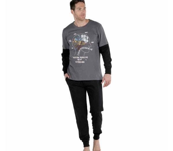 687beb75bd Imagen. pijama hombre Pettrus