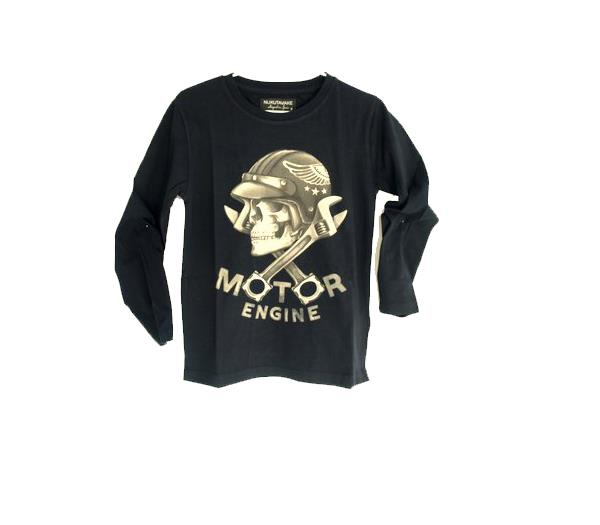 6623239df Outlet Mayoral camiseta de niño con serigrafía. Rebajado. ColorNEGRO