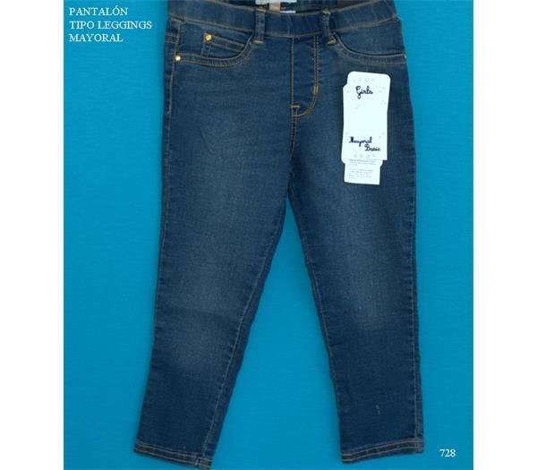 4fc4c3ec9 Imagen. Outlet Mayoral pantalón tejano de niña