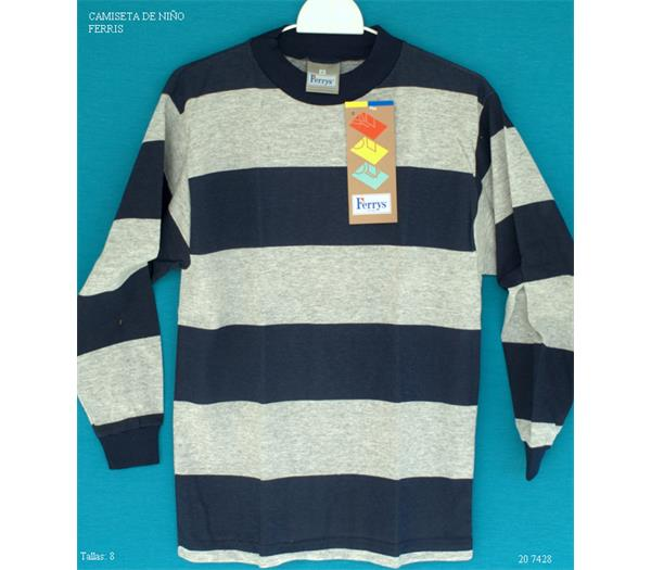 97bd707eb Ferris camiseta de niño listada - Ropa10